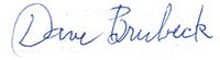 brubeck-signature